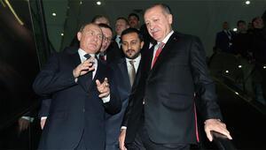 Cumhurbaşkanı Erdoğandan Putine hediye