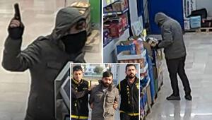Kameralardan tespit edilen silahlı soyguncu yakalandı