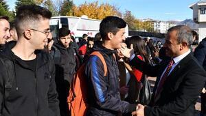 Tuncelideki 2 bin 19 öğrenci uçakla seyahat yapacak