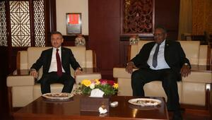 Cumhurbaşkanı Yardımcısı Fuat Oktay Sudanda
