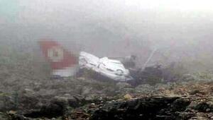 Düşen uçağın enkazı bulundu; Pilot ve öğrencisinden acı haber/ Ek fotoğraf