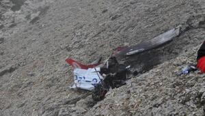 Düşen uçağın enkazı bulundu; Pilot ve öğrencisinden acı haber (4)