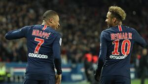 PSGye Neymar ve Mbappe şoku