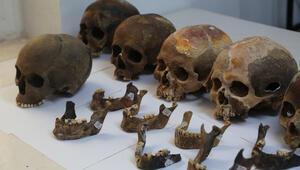 Alanya'da 7 bin yıllık toplu mezar bulundu