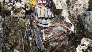 Silvanda PKKnın kullandığı 7 mağara ve 5 sığınak bulundu