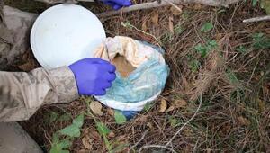 Amanoslarda 8 kilo TNT ve 6 kilo amonyum nitrat ele geçirildi