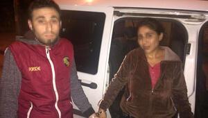 Antalyayı karıştıran sevgililer yakalandı