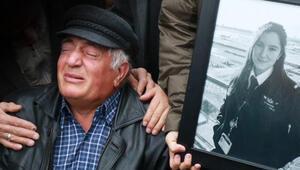 Pilot Merve Altunun cenazesi Afyonda toprağa verildi