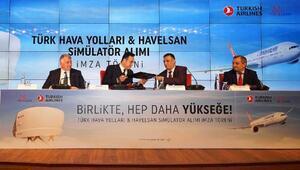 THY ve HAVELSAN arasında 5 yeni simülatör için imzalar atıldı