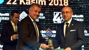 Manavgat Belediyesi projelerine ödül