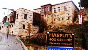 Tarihi Harputta sonbahar manzarası
