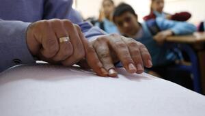 Görme engelli öğretmenin yurt dışı hayali