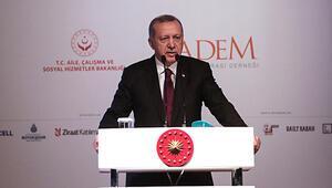Cumhurbaşkanı Erdoğan: Yeterli olmamakla birlikte tarihi bir rekorun seviyesi ve ifadesidir
