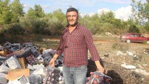 Antalya'da ormanlık alanda şok Daha paketleri bile açılmamış…