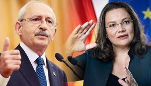 Kılıçdaroğlu, SPD lideri Nahles'le buluşacak
