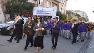 Akhisar 8inci Dünya Zeytin Günü kortej yürüyüşü ile başladı