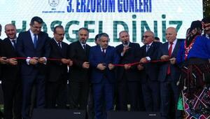 'Palandöken-Uludağ buluşması' 3. Erzurum günleri açılışı gerçekleşti