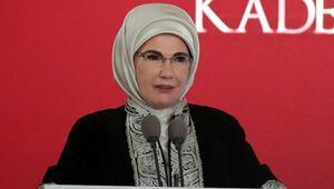 Emine Erdoğan: Aile bir vücudu meydana getiren yapı taşlarıdır