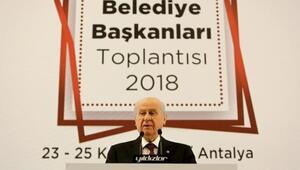 Bahçeli: MHP, İstanbul, Ankara ve İzmirde Büyükşehir adayı göstermeyecek (2)