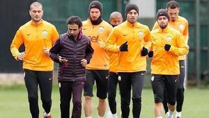 Galatasarayda Lokomotiv Moskova maçı hazırlıkları başladı
