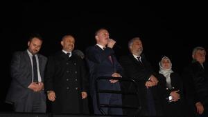 Kocaelide partililer, Tahir Büyükakını coşkuyla karşıladı