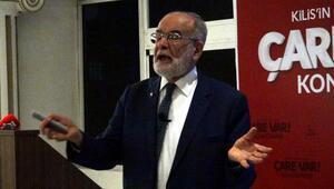 SP lideri Karamollaoğlu, Kiliste konferansa katıldı