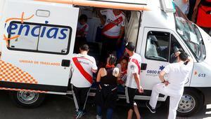 Boca Juniors takım otobüsüne saldırı Yaralılar var