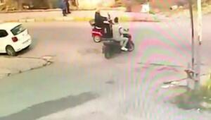 Kazadan sonra kaçan sürücü yakalandı