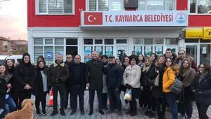 Yunanistan'ın Demokritos Üniversitesi öğrencileri, Kaynarca'yı ziyaret etti