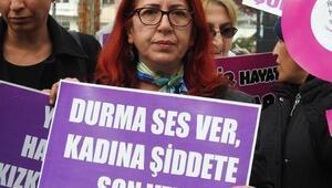 Çorum Kadın Platformundan, kadına şiddete tepki