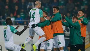 6 gollü maçta Bursaspor güldü