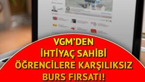 VGM burs başvuru sonuçları ne zaman, hangi tarihte açıklanacak