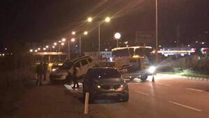 Giresunda dur ihtarına uymayan sürücü, polislere çarptı: 1 şehit,1 yaralı