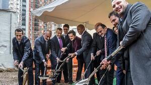 New Yorkta 21 katlı Türken Evinin temeli atıldı