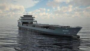 Doğu Karadeniz'in en büyük çelik gemisinin yapımına başlandı