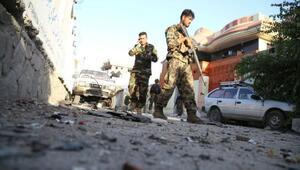 Son dakika... Afganistanda polise saldırı