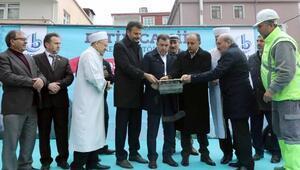 Fetih Camii'nin temeli dualarla atıldı