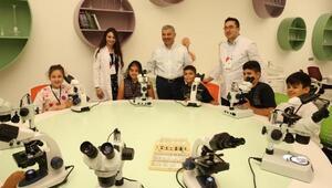 Bilim merkezini 2 yılda 300 binden fazla kişi ziyaret etti