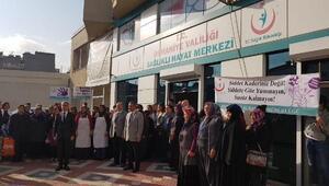 Osmaniyede 1 dakikalık sessizlik duruşu etkinliği