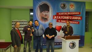 Atatürk'ü Anma 9uncu Briç Turnuvası Kartal'da gerçekleştirildi