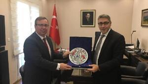 TÜ Rektörü Prof. Dr. Tabakoğlundan, Trakya Demokritus Üniversitesi'ne ziyaret