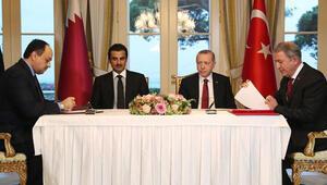 Türkiye-Katar arasında imzalar atıldı