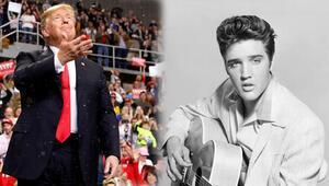 Trump: Gençliğimde beni Elvis Presleye benzetirlerdi