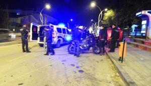 Çorumda 2 yunus ekibi kaza yaptı: 4 polis yaralı