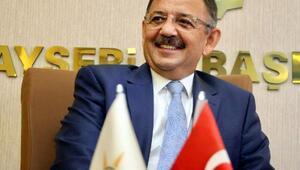 Özhasekinin Ankara Büyükşehir Belediye Başkan adayı olması Kayseride sevinç yarattı