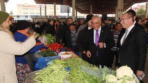 DSP Genel Başkanı Aksakaldan pazar turu