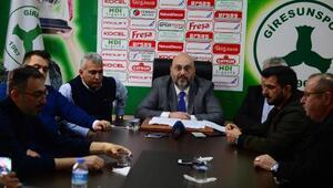 Giresunsporda olağanüstü kongre kararı alındı