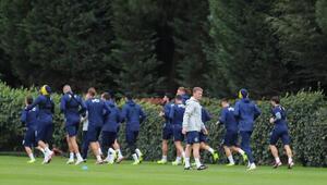 Fenerbahçede Dinamo Zagreb hazırlıkları sürüyor