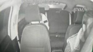Bayrampaşada Turkuaz Taksi sürücüsüne silahlı saldırı kamerada