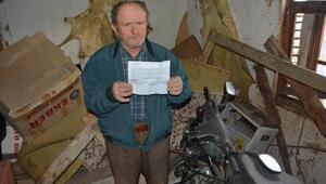 Köyde ardiyeden 4 yıldır hiç çıkmayan motosiklete HGS cezası